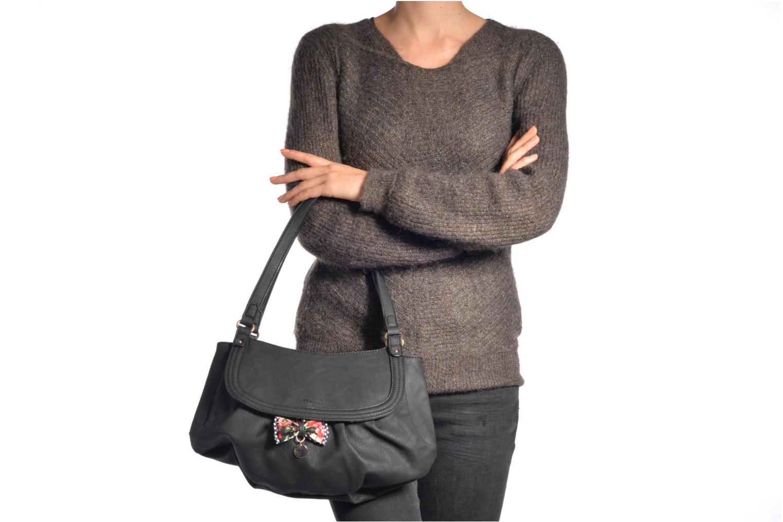 Handtaschen Tamaris Lea - Shoulder bag schwarz ansicht von oben