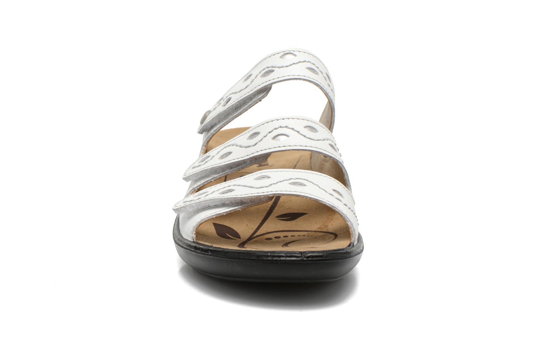 Mules et sabots Romika Ibiza 66 Blanc vue portées chaussures
