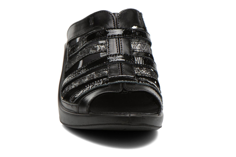 Clogs & Pantoletten Romika Mokassetta 285 schwarz schuhe getragen