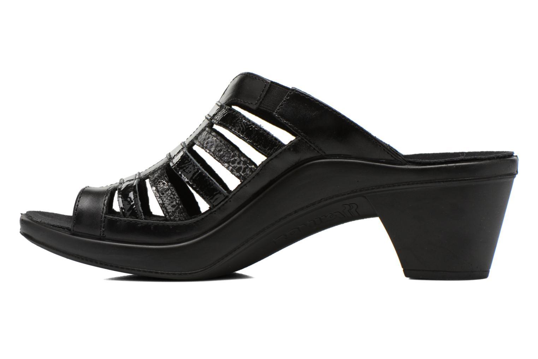 Clogs & Pantoletten Romika Mokassetta 285 schwarz ansicht von vorne