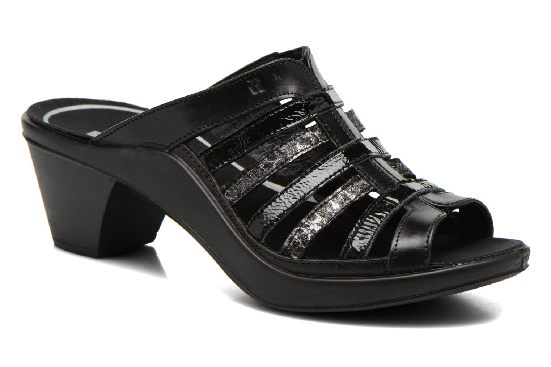 Clogs & Pantoletten Romika Mokassetta 285 schwarz detaillierte ansicht/modell