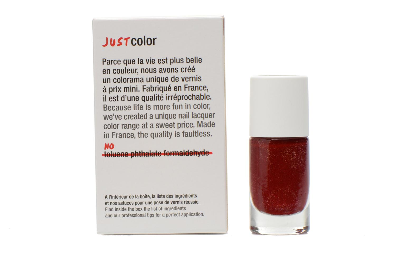 Cuidados y belleza pies Nailmatic Pintauñas Rojo vista de frente