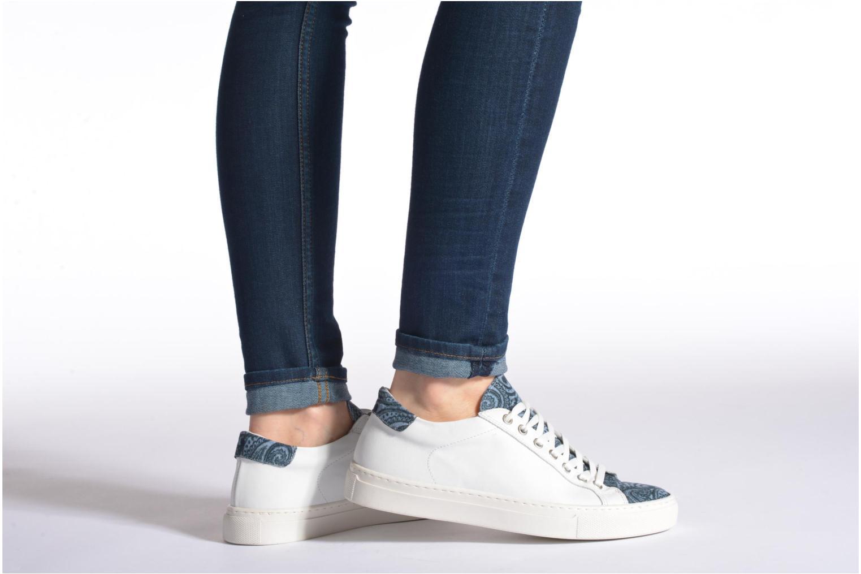 Sneaker Made by SARENZA Seven Tease #2 weiß ansicht von unten / tasche getragen