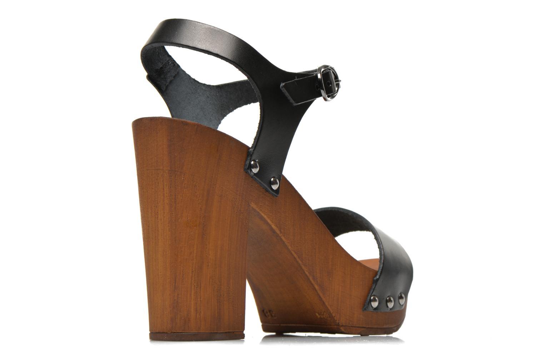 Sandales et nu-pieds Made by SARENZA Discow Girl #8 Noir vue portées chaussures