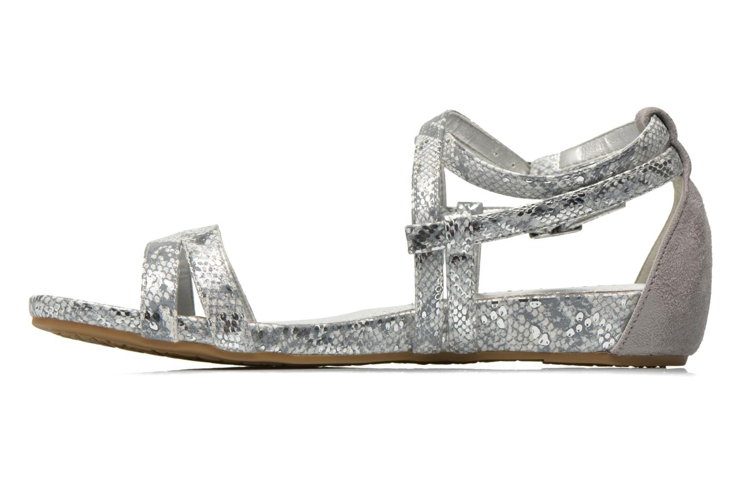 Sandals Madison Emour Silver front view