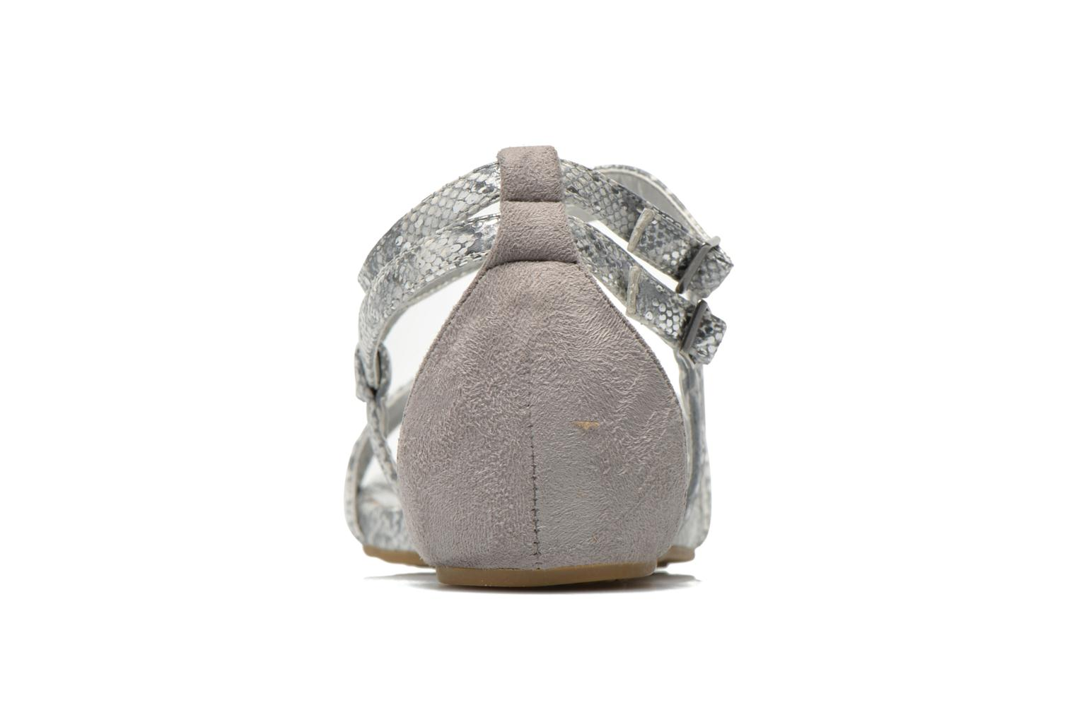 Sandals Madison Emour Silver view from the right