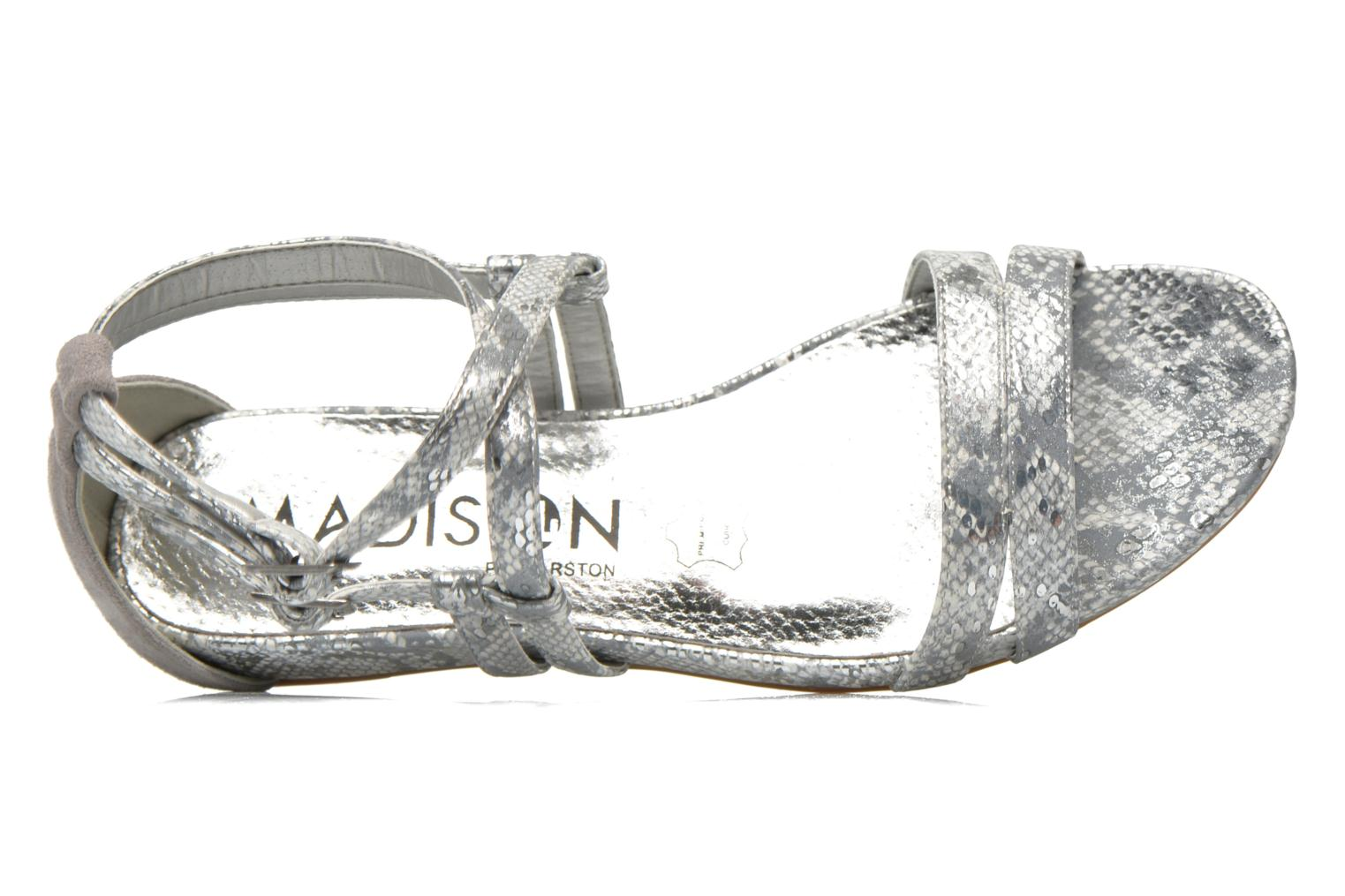 Sandals Madison Emour Silver view from the left