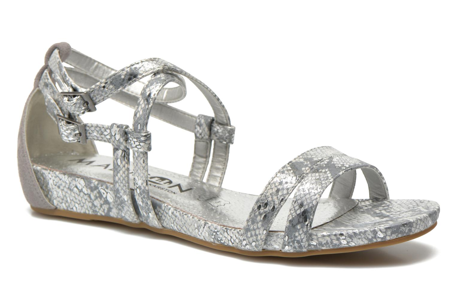 Sandals Madison Emour Silver detailed view/ Pair view