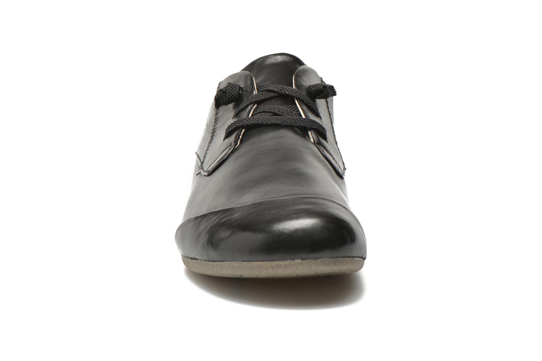 Schnürschuhe Josef Seibel Fiona 01 schwarz schuhe getragen