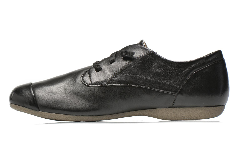 Zapatos con cordones Josef Seibel Fiona 01 Negro vista de frente