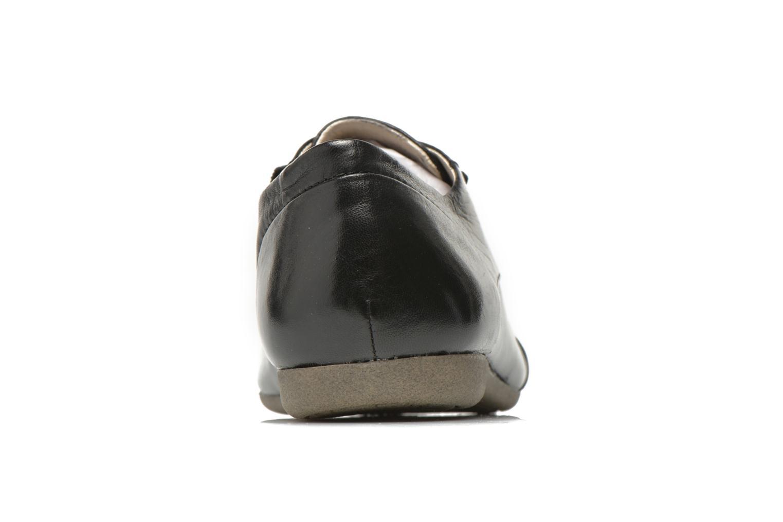 Zapatos con cordones Josef Seibel Fiona 01 Negro vista lateral derecha