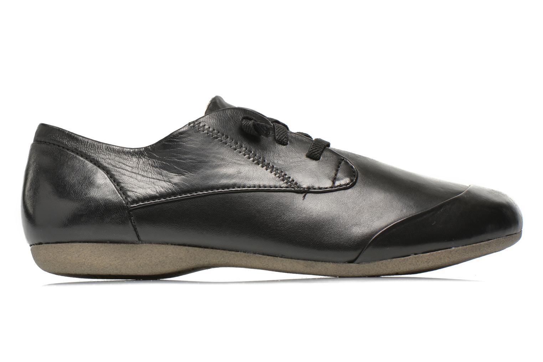 Zapatos con cordones Josef Seibel Fiona 01 Negro vistra trasera