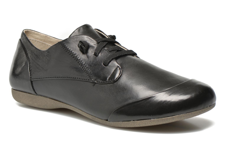 Grandes descuentos últimos zapatos Josef Seibel Fiona 01 (Negro) - Zapatos con cordones Descuento