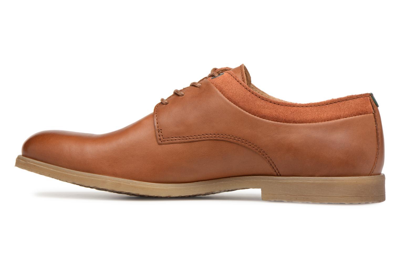 Chaussures à lacets Kickers FLAVESTON Marron vue face