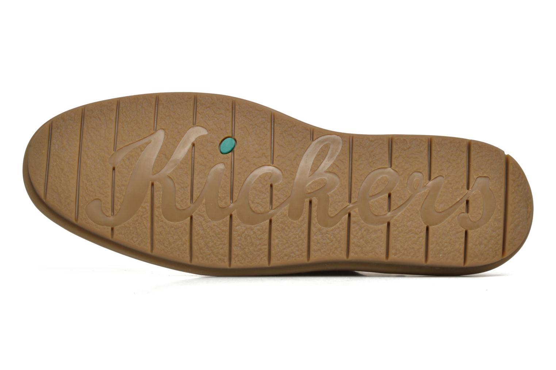 Zapatos con cordones Kickers VIKANG Beige vista de arriba
