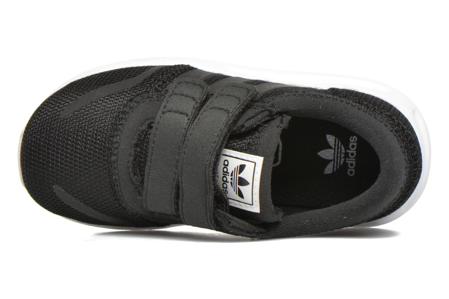 Baskets Adidas Originals Los Angeles Cf I Noir vue gauche