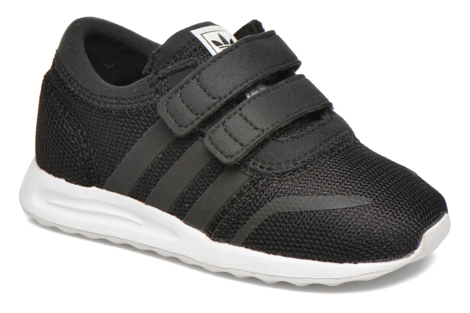 Baskets Adidas Originals Los Angeles Cf I Noir vue détail/paire