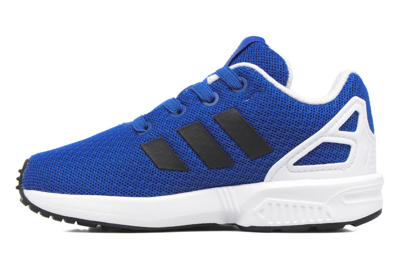 Baskets Adidas Originals Zx Flux El I Bleu vue face