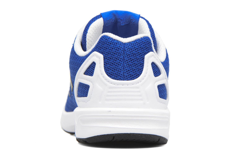 Baskets Adidas Originals Zx Flux El I Bleu vue droite