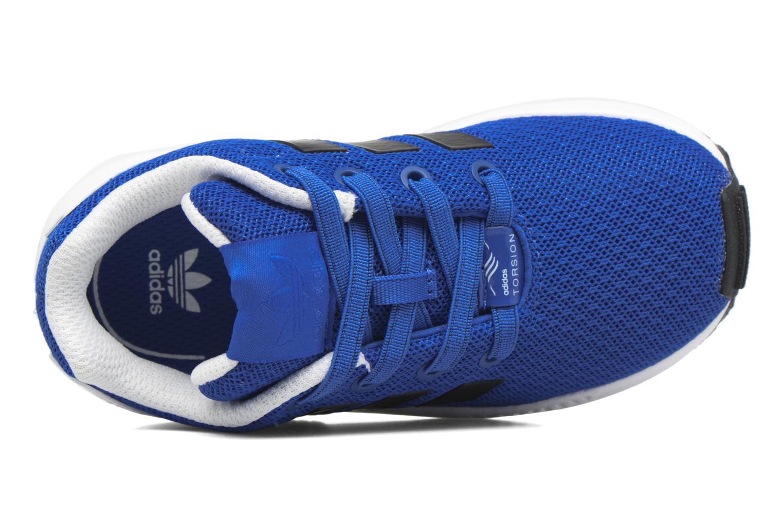 Baskets Adidas Originals Zx Flux El I Bleu vue gauche