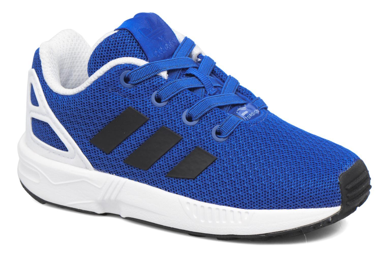 Baskets Adidas Originals Zx Flux El I Bleu vue détail/paire