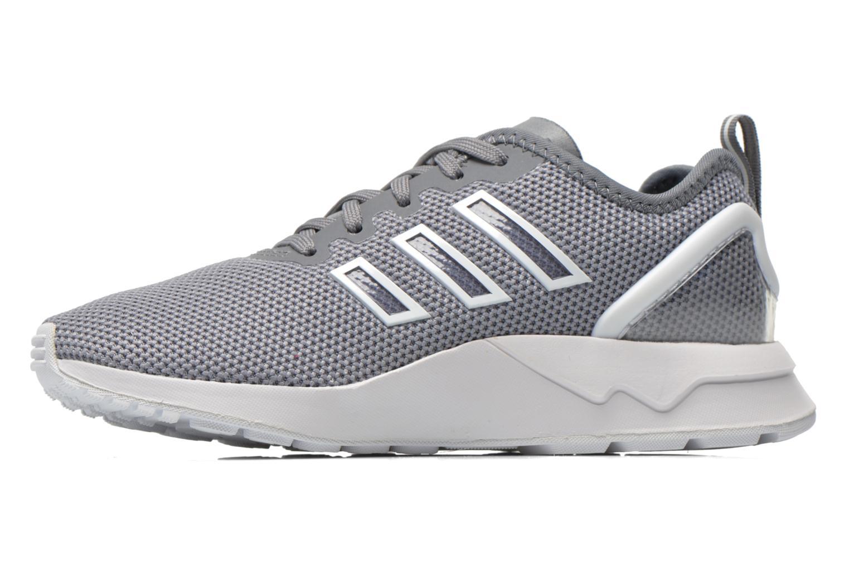 Sneaker Adidas Originals Zx Flux Adv K grau ansicht von vorne