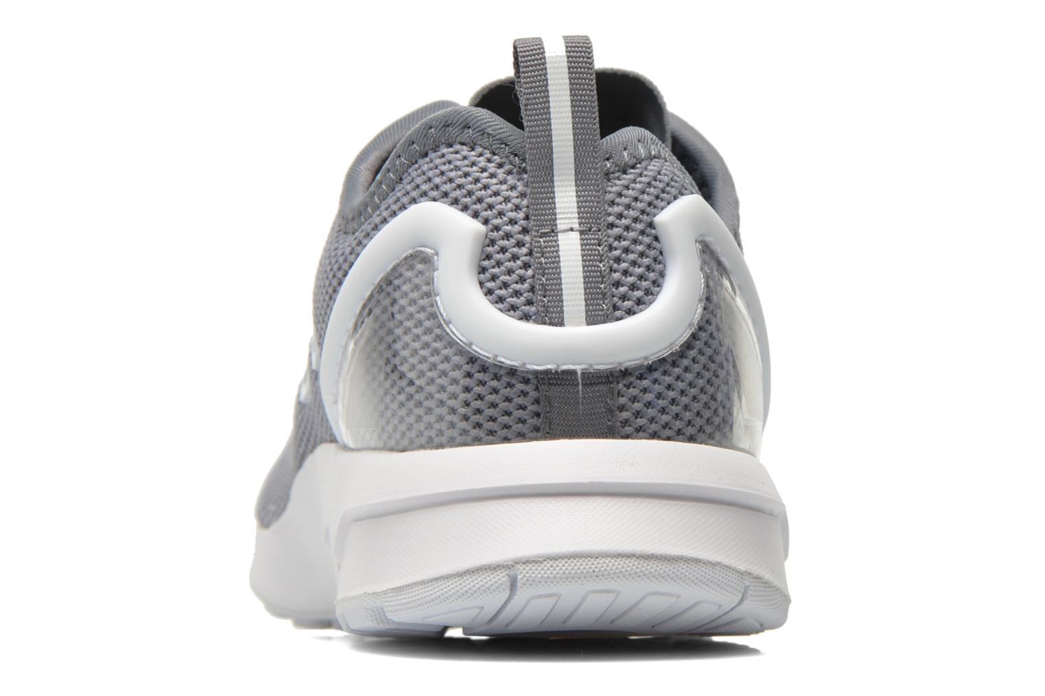 Trainers Adidas Originals Zx Flux Adv K Grey view from the right