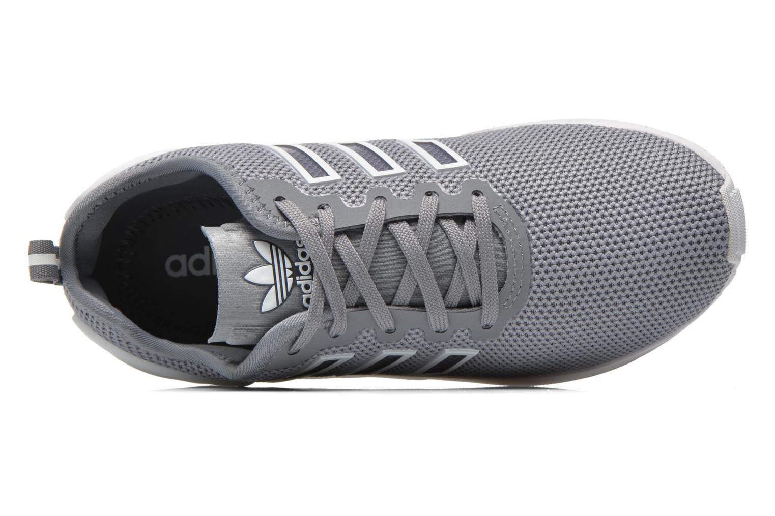 Trainers Adidas Originals Zx Flux Adv K Grey view from the left