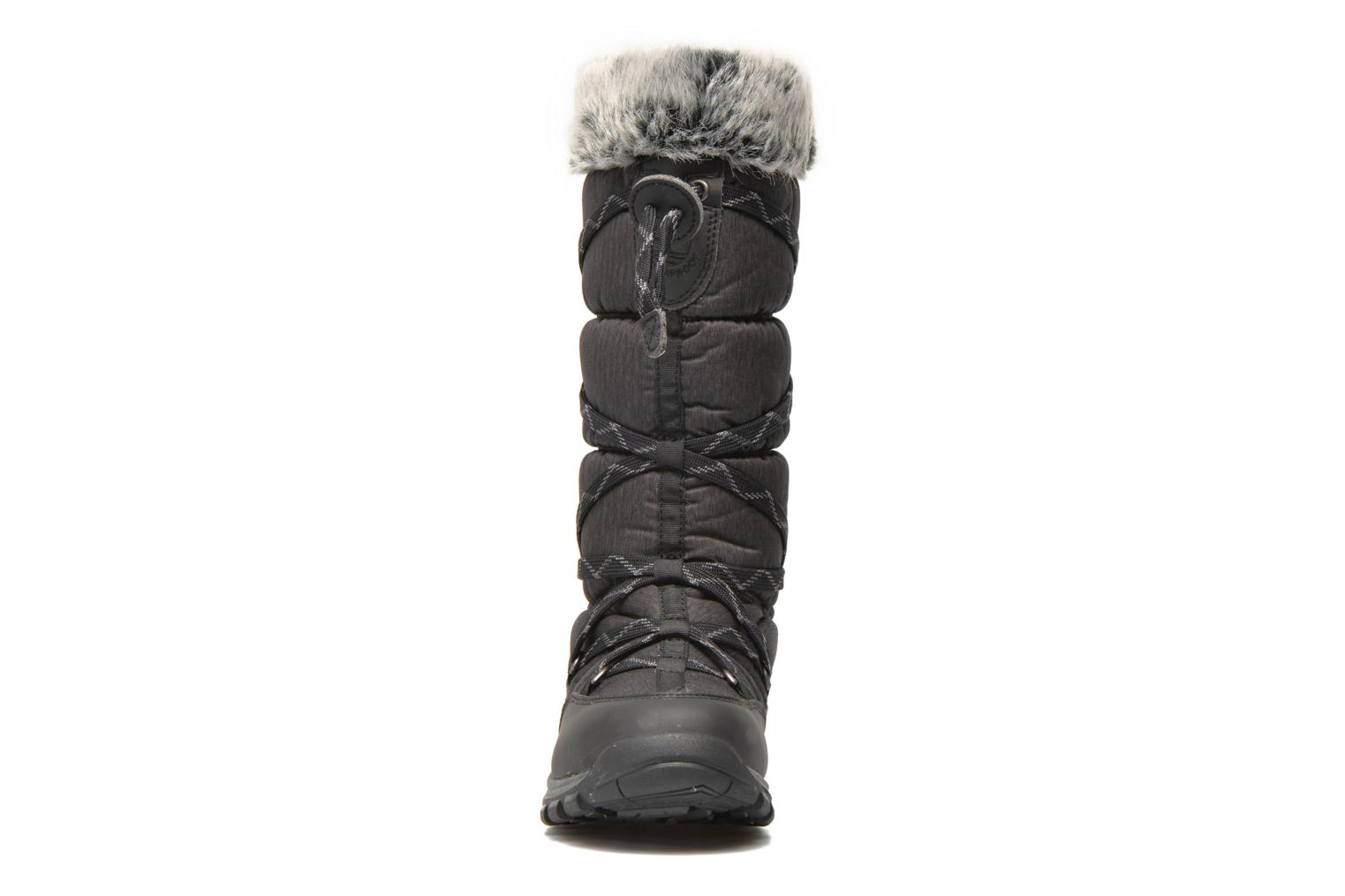Bottines et boots Timberland Over the Chill Noir vue portées chaussures