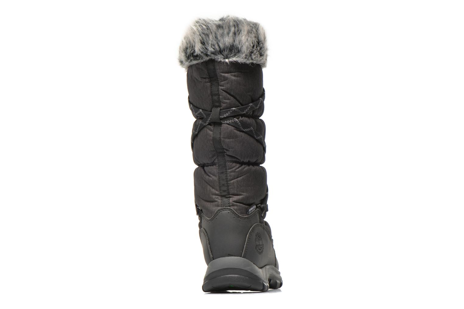 Bottines et boots Timberland Over the Chill Noir vue droite