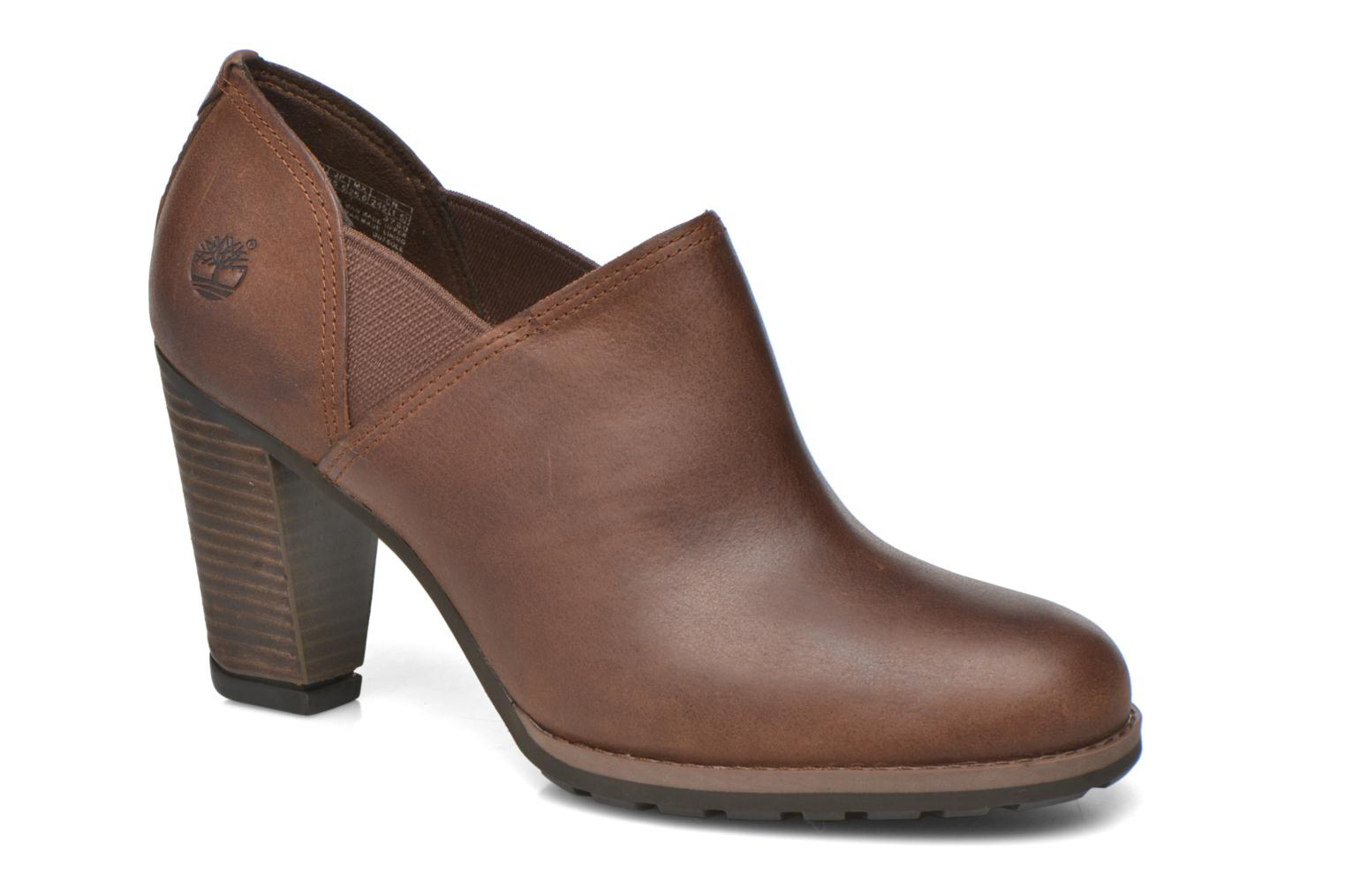 Ankle boots Timberland Stratham Heights Shootie Brown detailed view/ Pair view