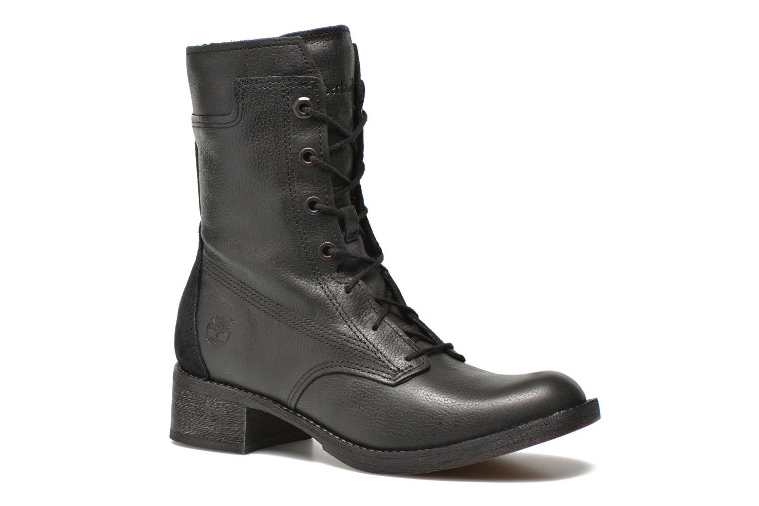 Whittemore Mid Lace Boot Black