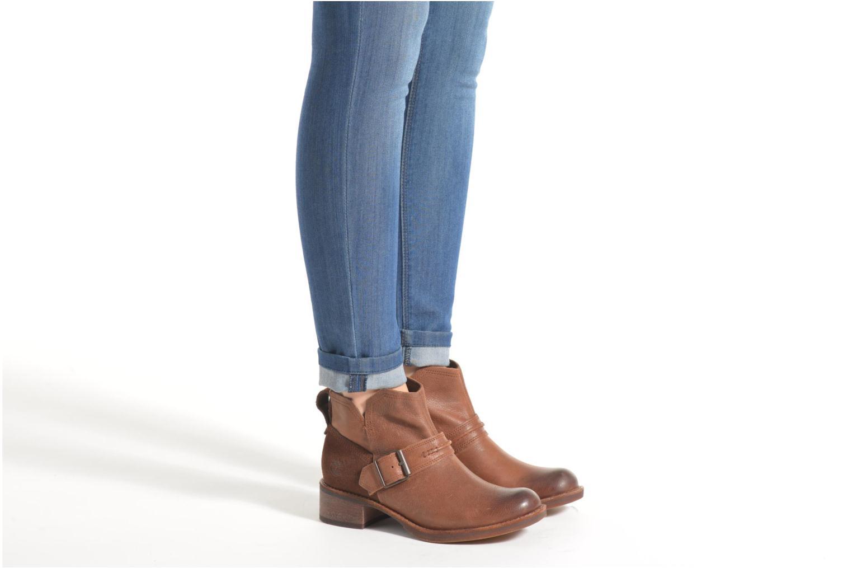 Stiefeletten & Boots Timberland Whittemore Mid Lace Boot braun ansicht von unten / tasche getragen