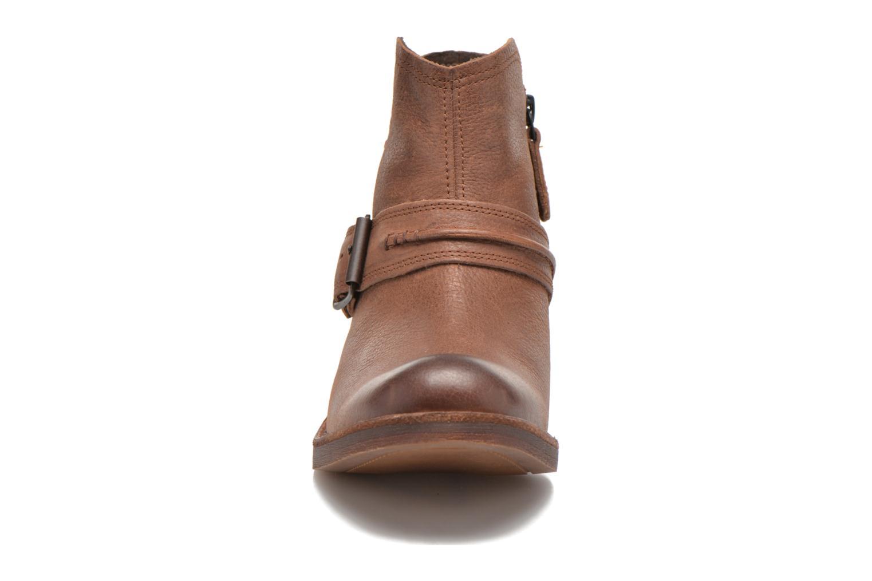 Stiefeletten & Boots Timberland Whittemore Mid Lace Boot braun schuhe getragen