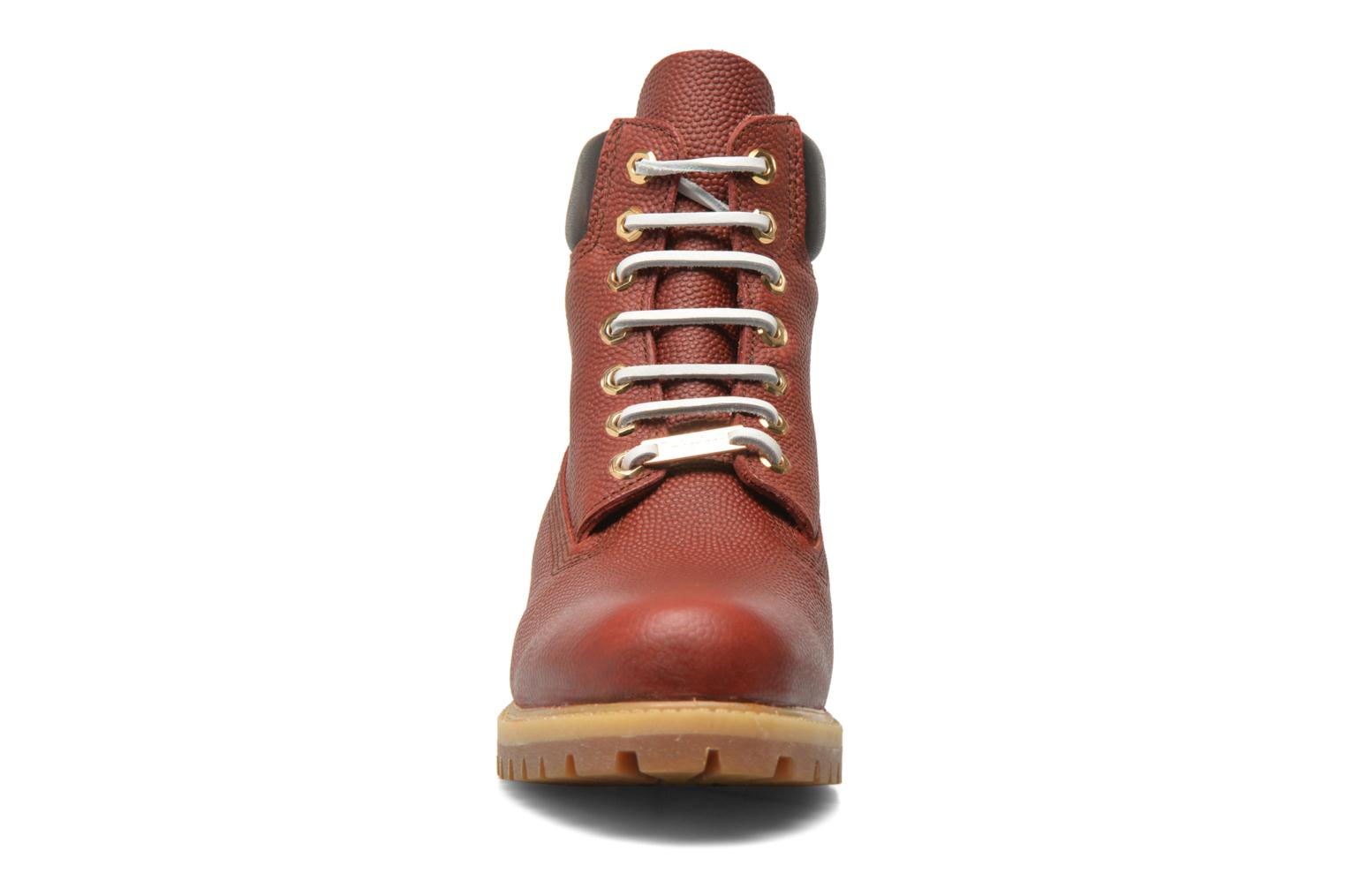 "Ankle boots Timberland Icon 6"" Premium Boot Brown model view"