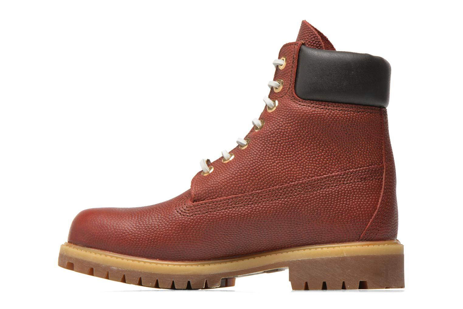 "Bottines et boots Timberland Icon 6"" Premium Boot Marron vue face"