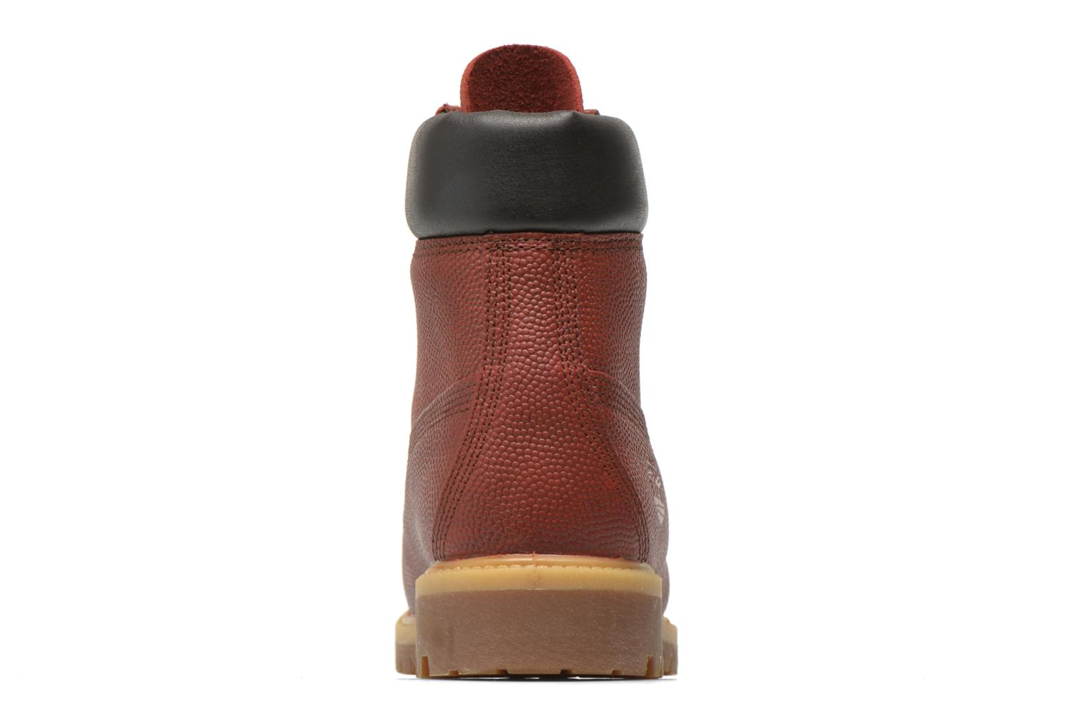 "Ankle boots Timberland Icon 6"" Premium Boot Brown view from the right"