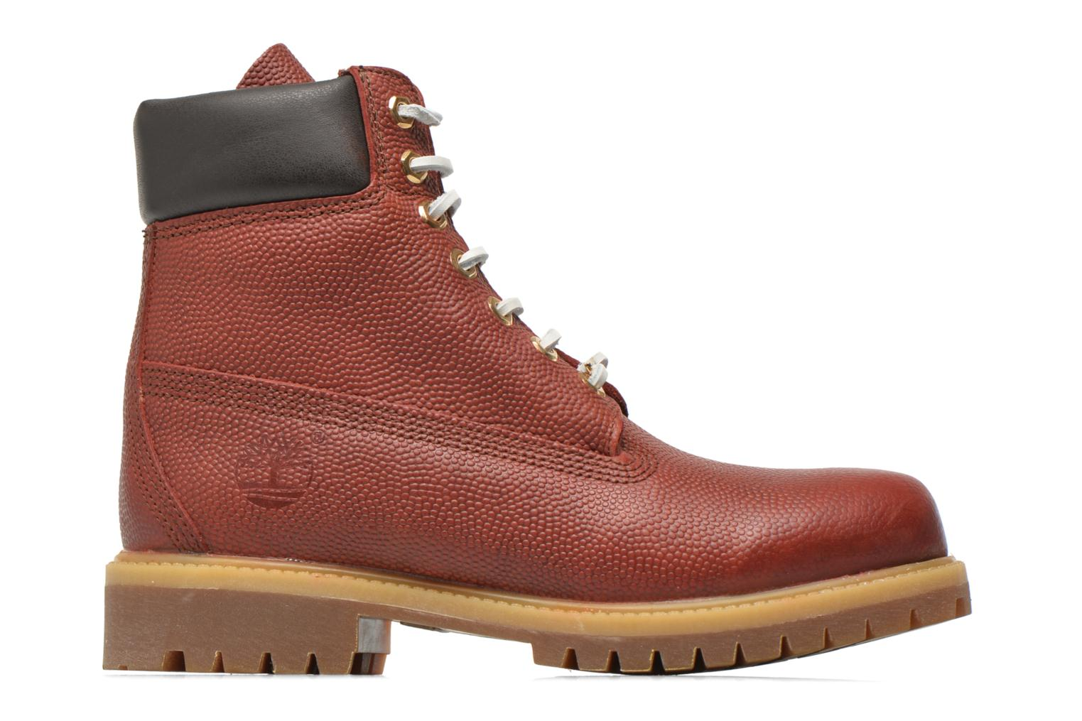 "Bottines et boots Timberland Icon 6"" Premium Boot Marron vue derrière"