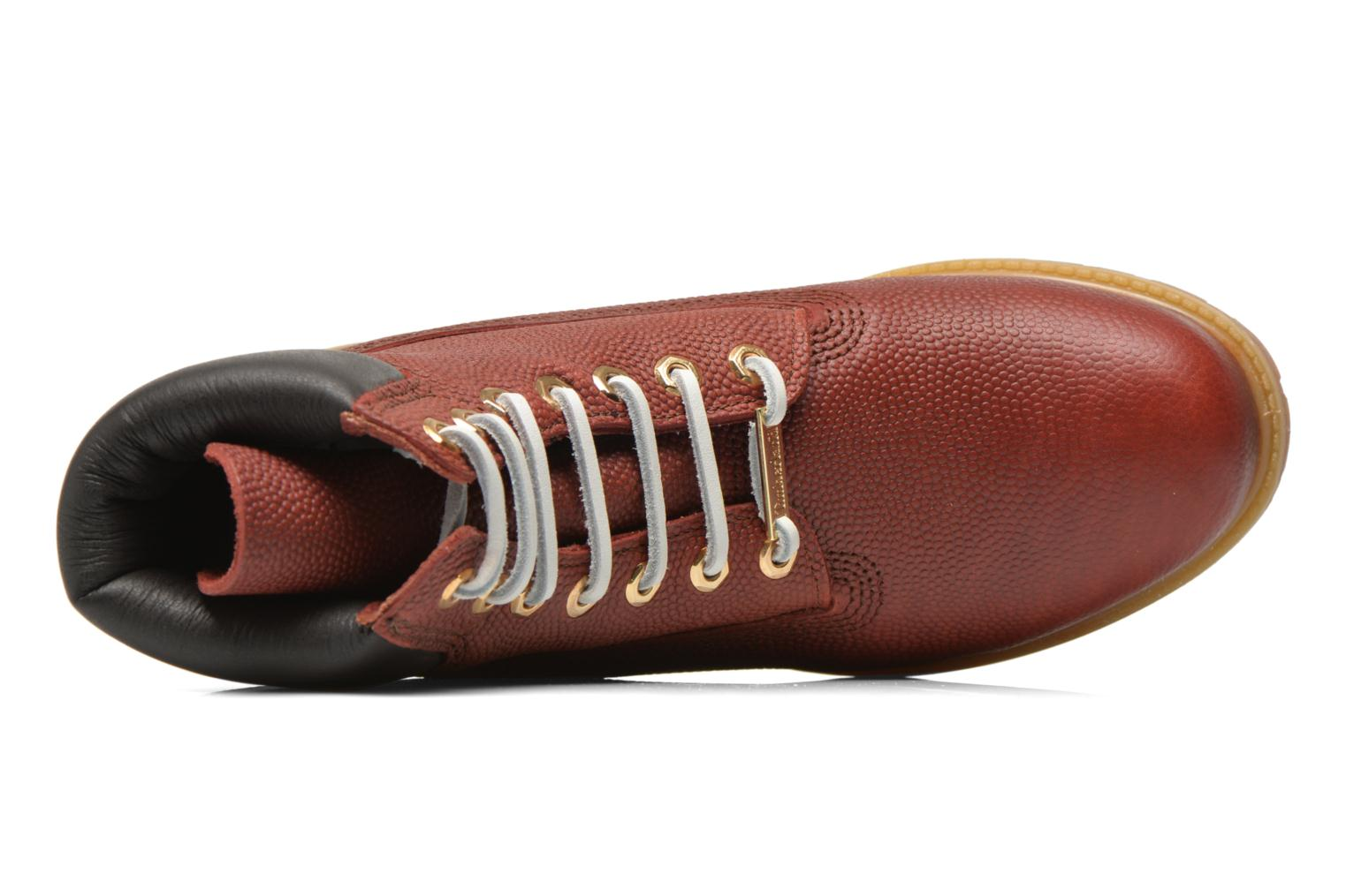 """Icon 6"""" Premium Boot Brown Horween Football Leather"""