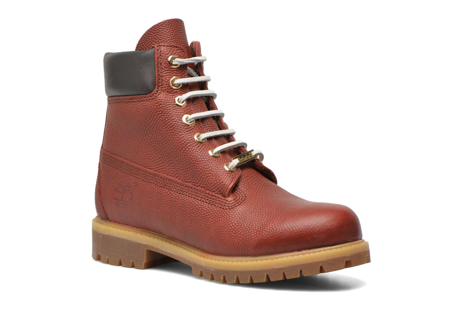 "Icon 6"" Premium Boot Brown Horween Football Leather"