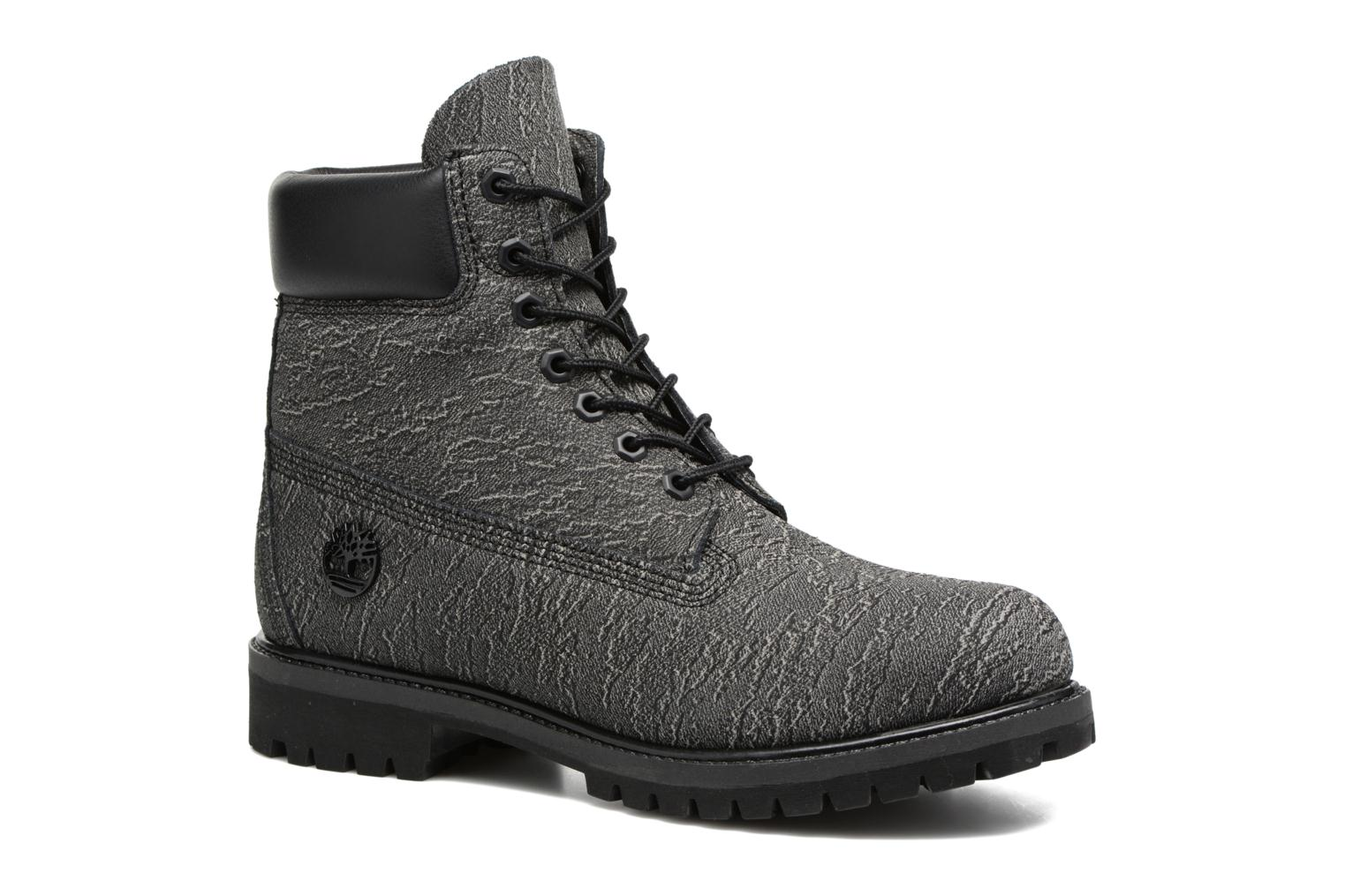 """6"""" Premium Boot Black/Forged Iron Cloudy Helcor"""