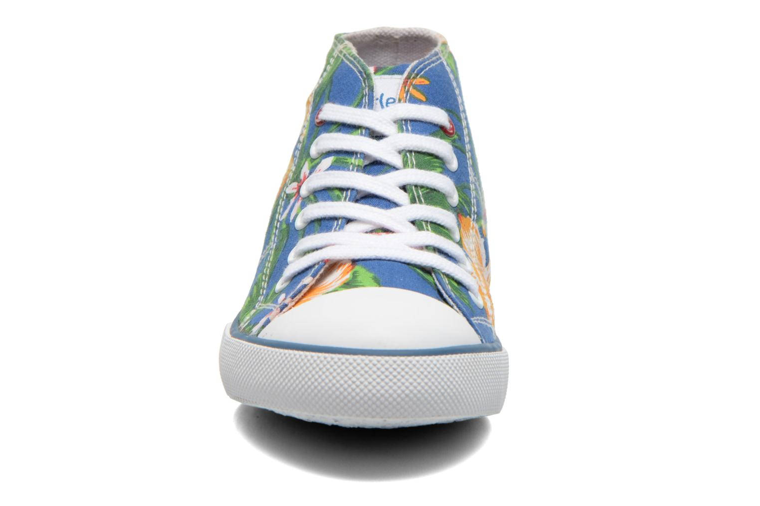 Sneakers Little Mary Little Basket Flowers Blauw model