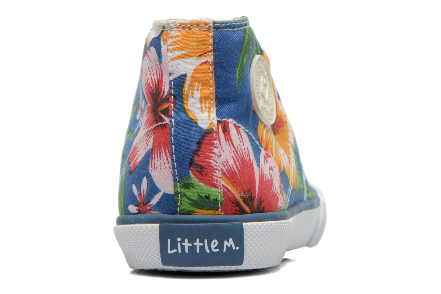 Sneakers Little Mary Little Basket Flowers Blauw rechts