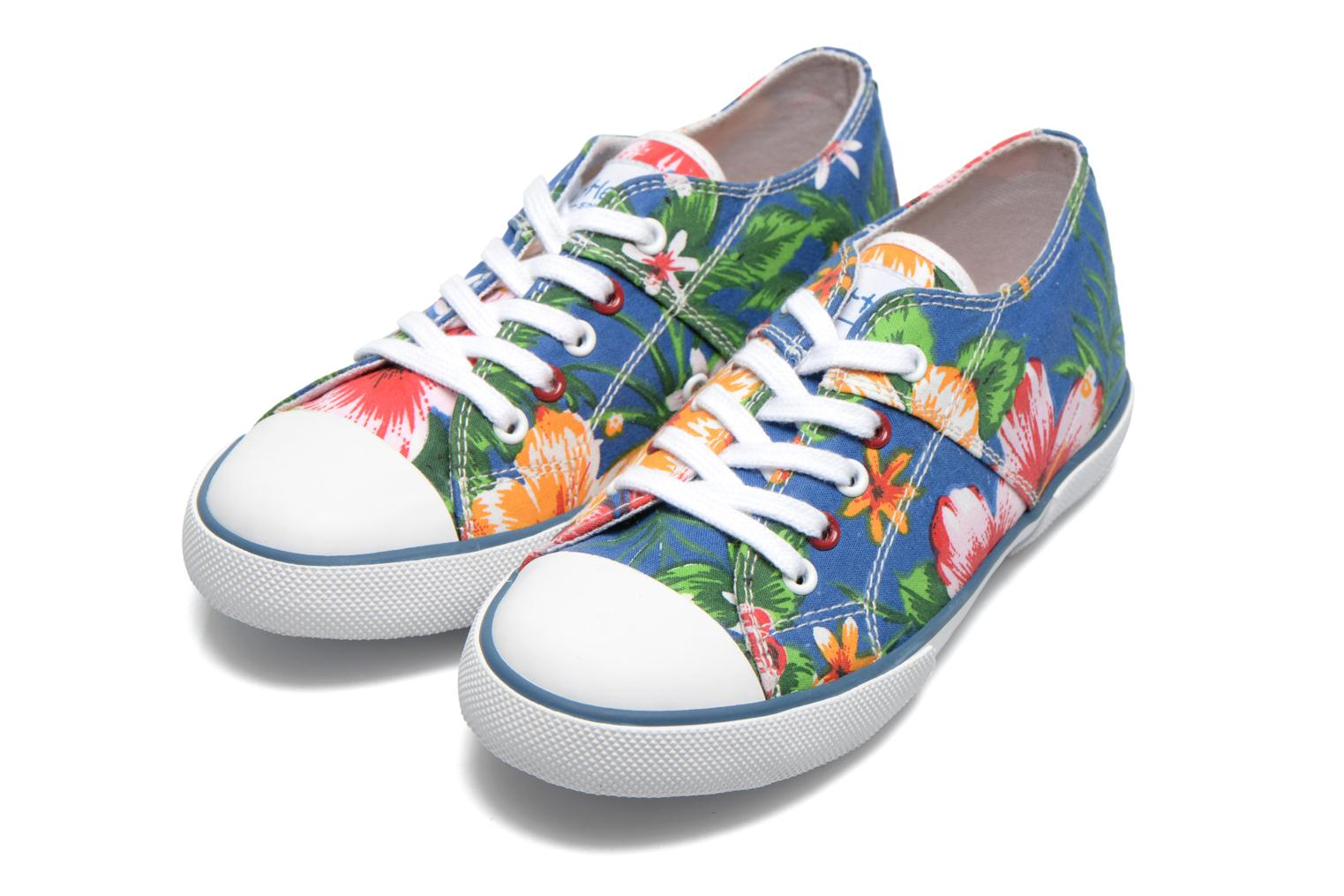 Sneaker Little Mary Little Tennis Flower blau 3 von 4 ansichten