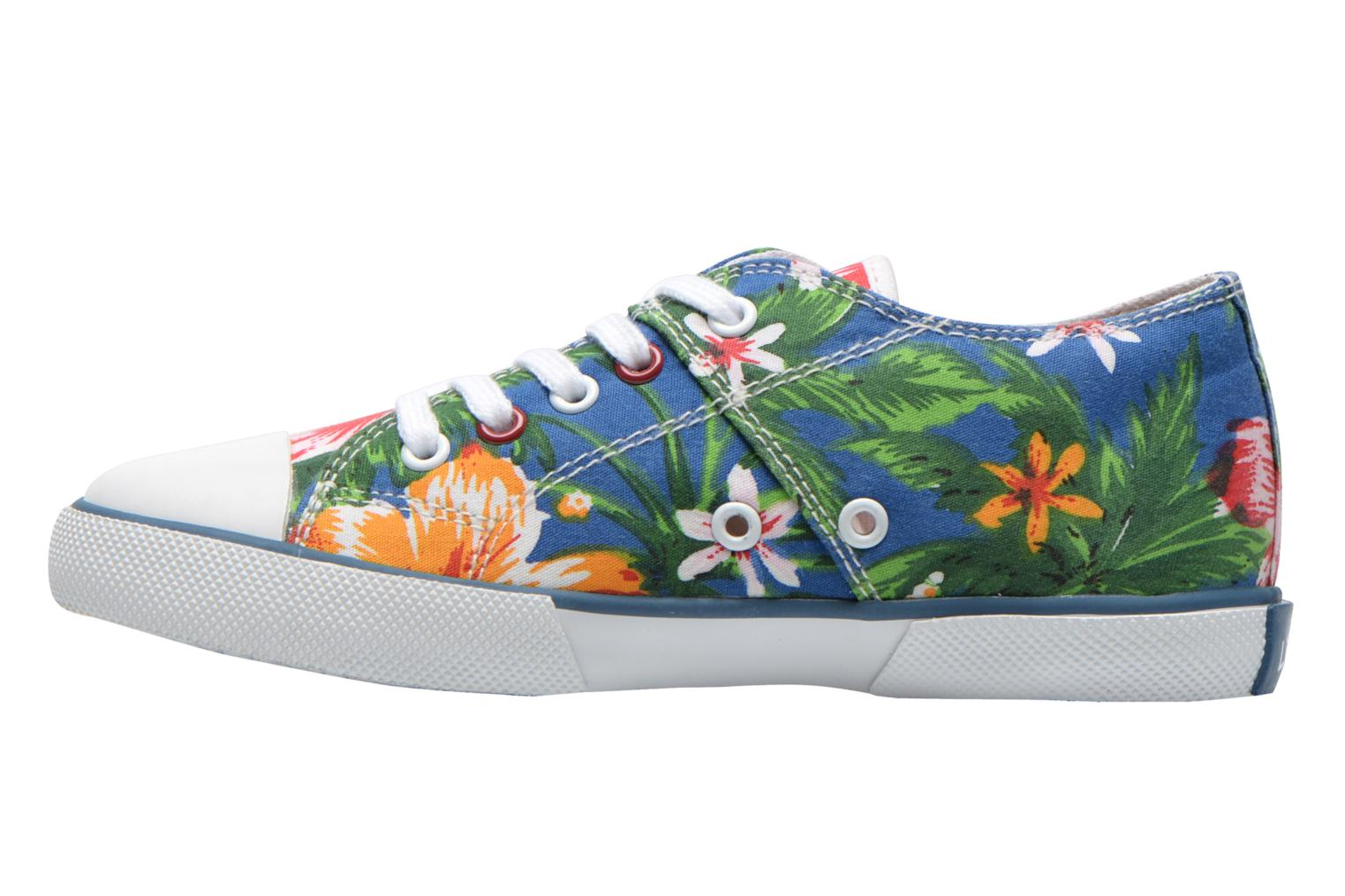 Sneaker Little Mary Little Tennis Flower blau ansicht von vorne
