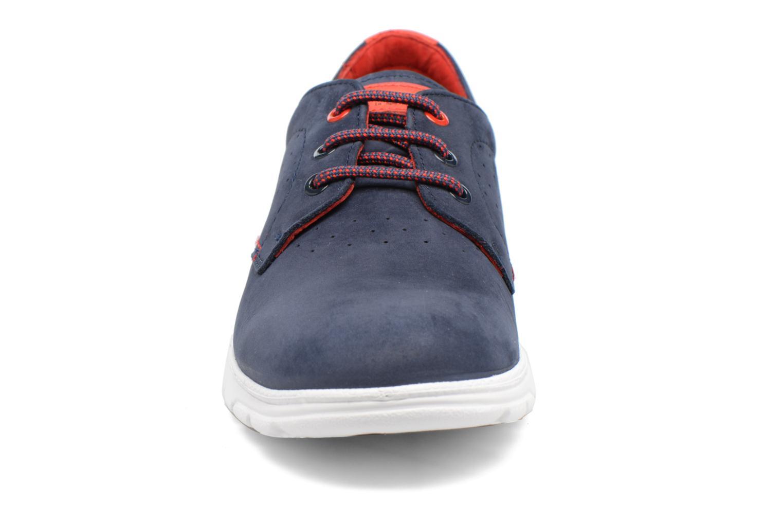 Baskets Panama Jack Domani Bleu vue portées chaussures