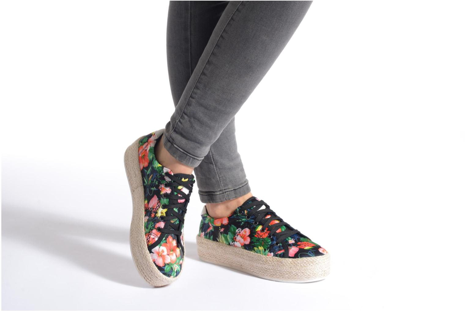 Trainers Colors of California Sneakers Double Sole Multicolor view from underneath / model view