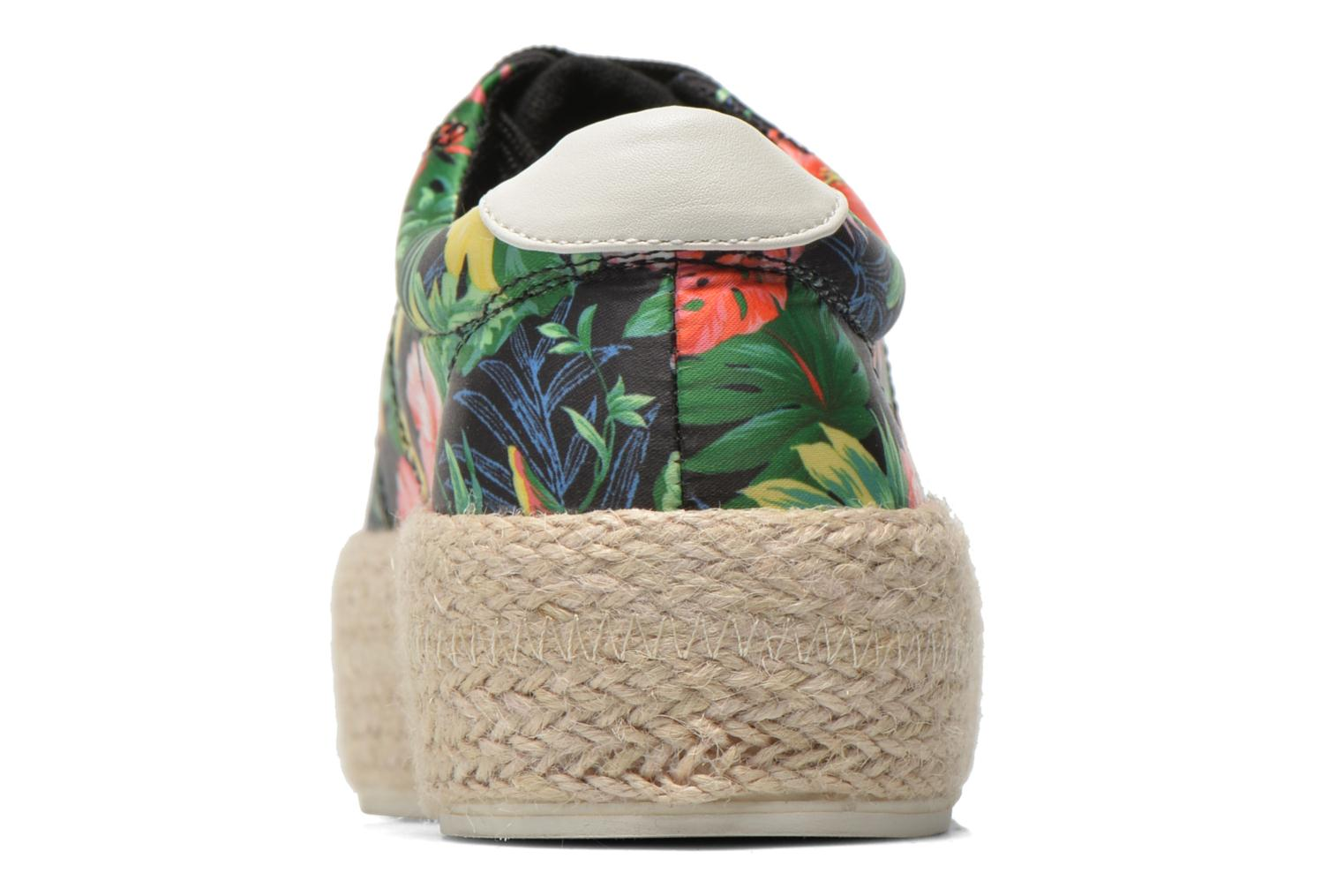 Trainers Colors of California Sneakers Double Sole Multicolor view from the right
