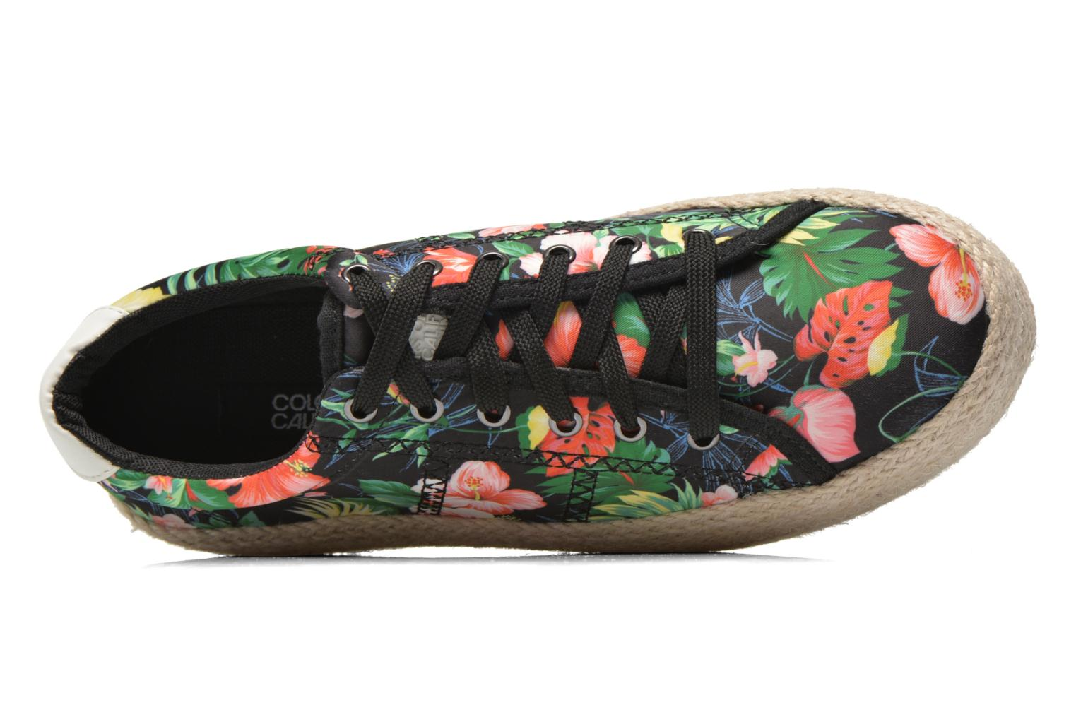 Trainers Colors of California Sneakers Double Sole Multicolor view from the left