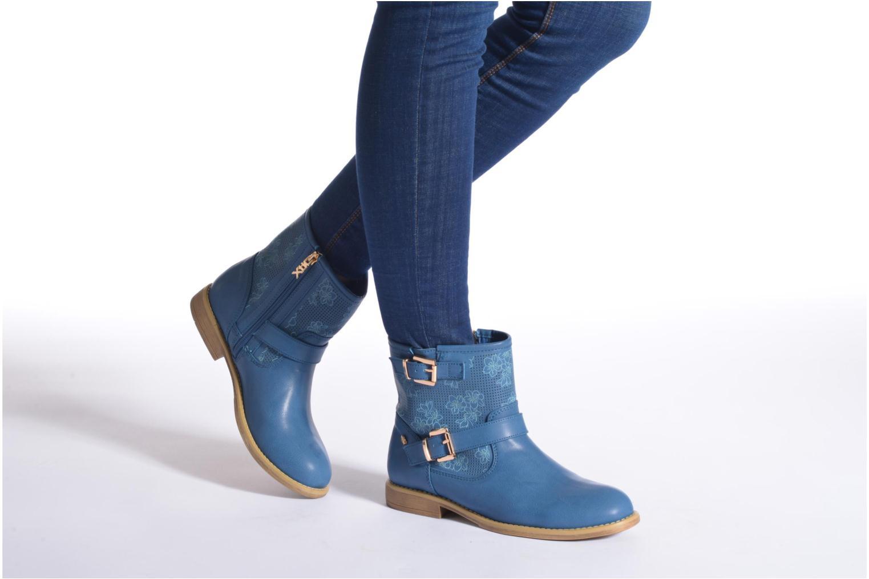 Bottines et boots Xti Randy 45017 Bleu vue bas / vue portée sac